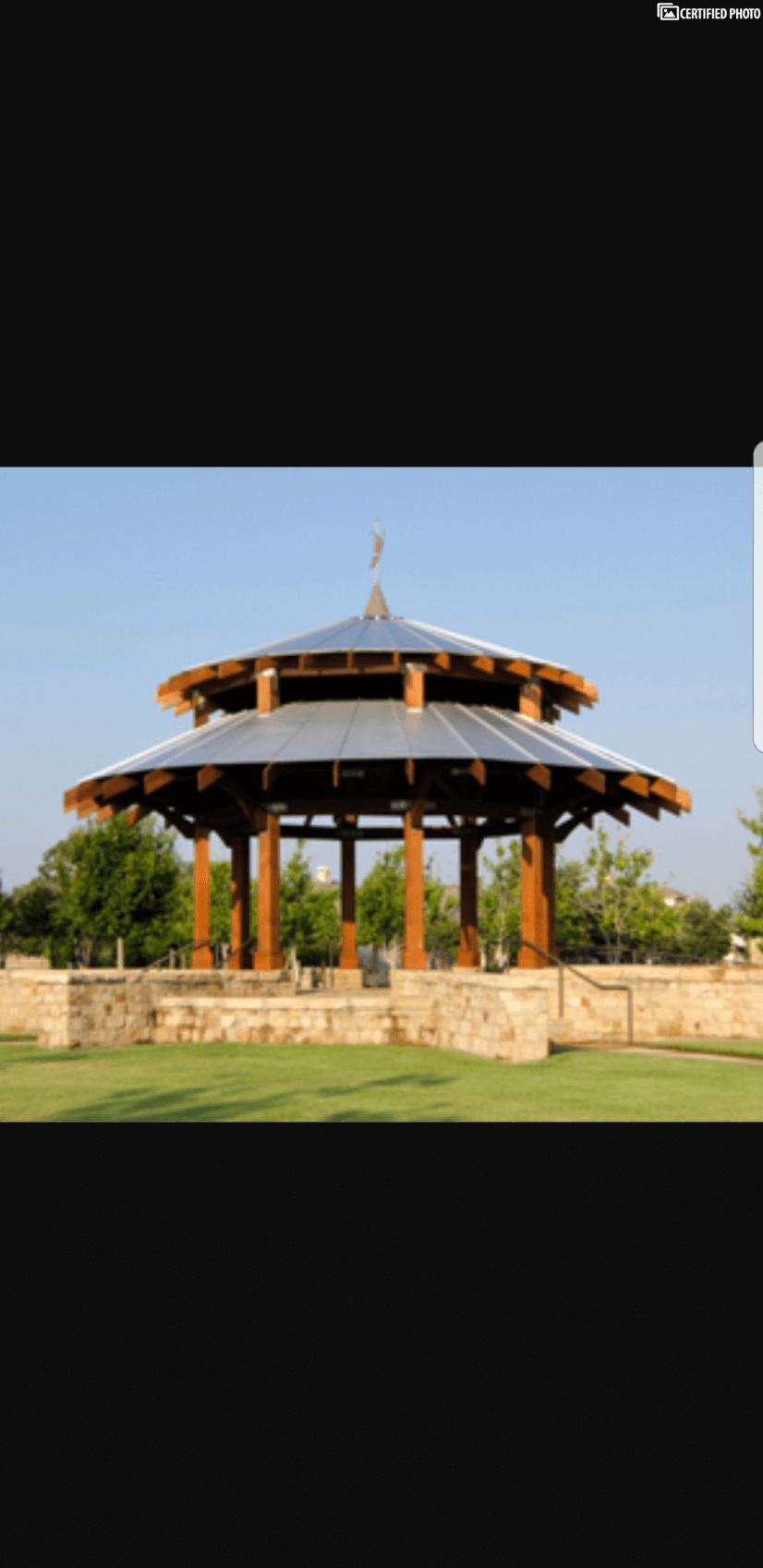Neighborhood Gazebo for special events and concerts