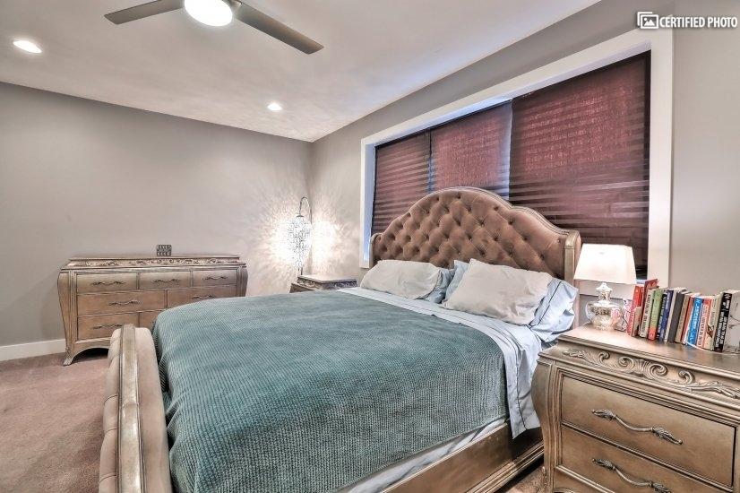 Luxurious Master Bedroom 2