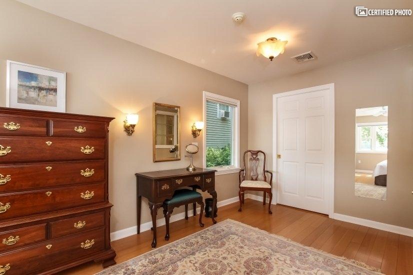 Opposing view of Master Bedroom. Walk-in closet in rear.