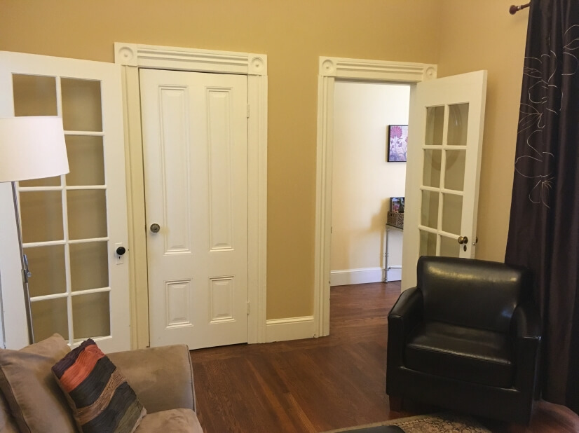 Living Room to Hallway