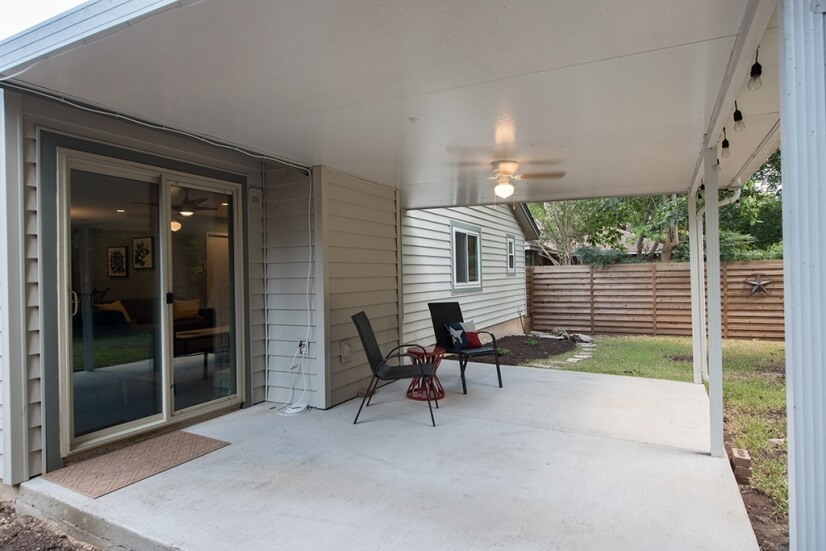 Patio and Fully Fenced Yard