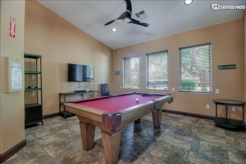 Pool Room in Club House