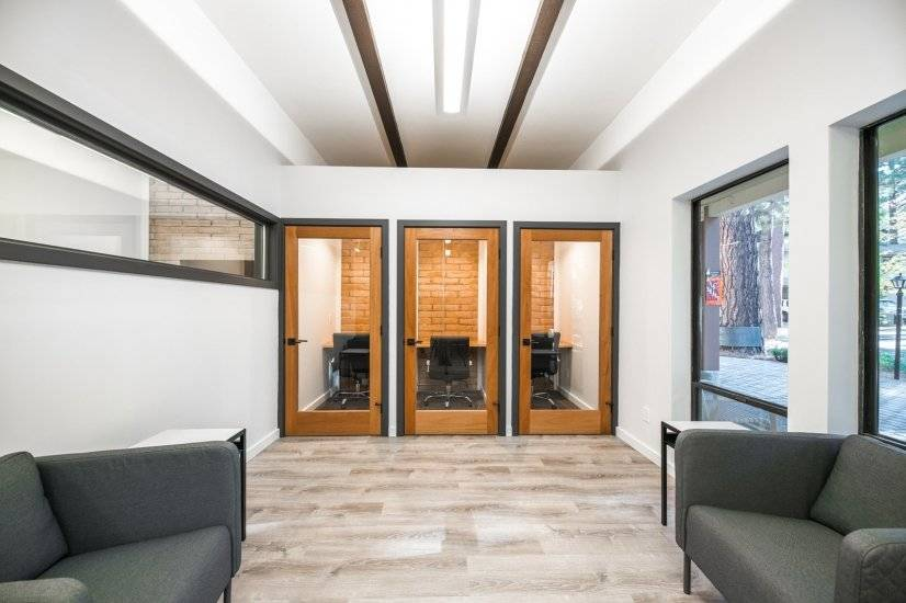 Private work booths