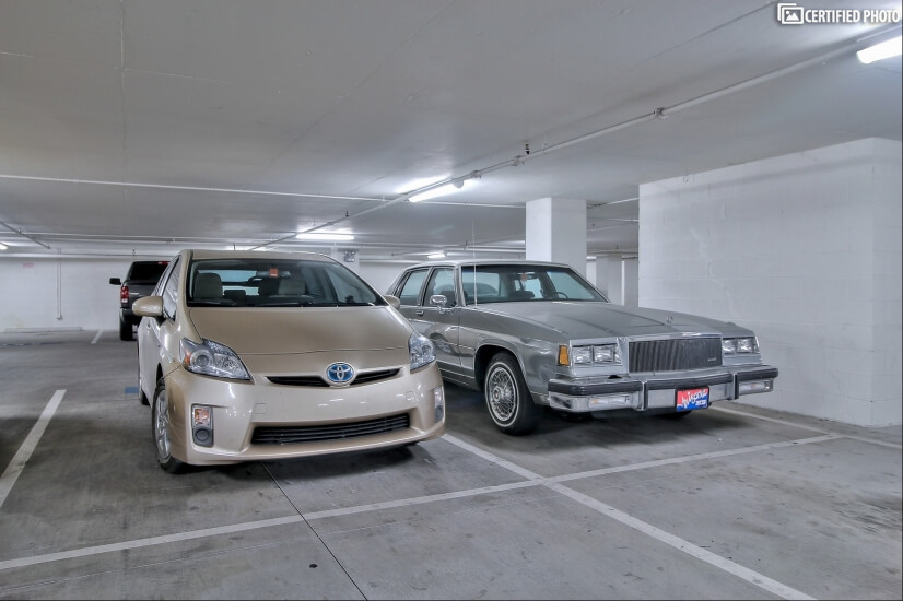 One Dedicated Parking Space