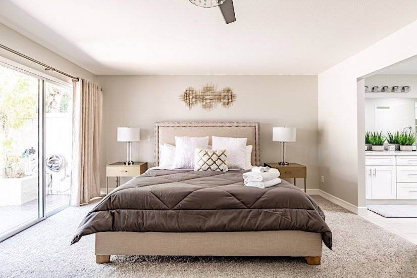 Master Bedroom - Plush Bed