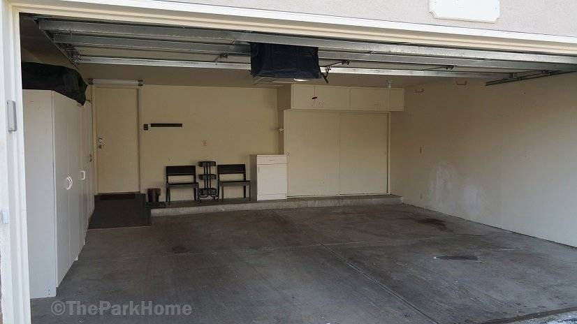Large 2 car attached garage–a great find in the city.