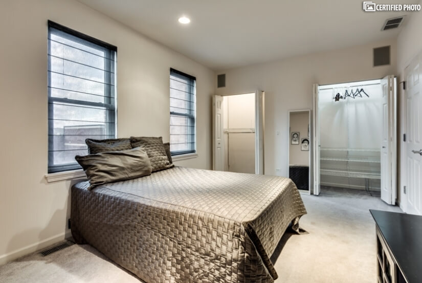 Over sized Bedroom 2 w/King Bed, Custom Closet