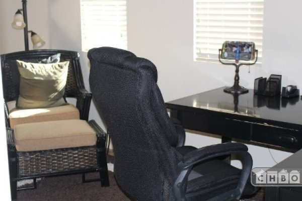 Desk and Easy Chair