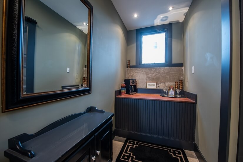 Coffee/ Bar Nook in Master Suite