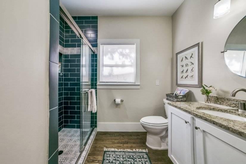 Full Bath with walk-in shower