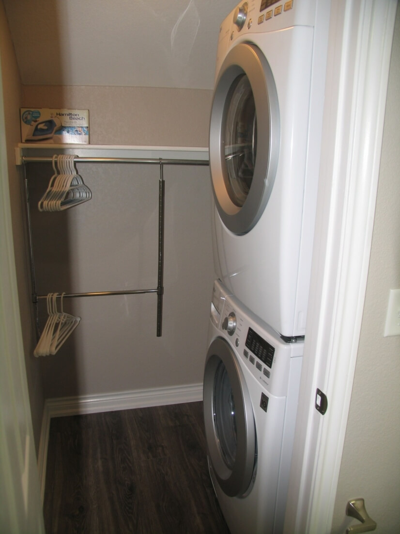 Near new full size washer dryer