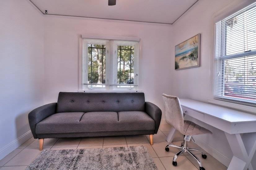 Multipurpose Room facing the street view