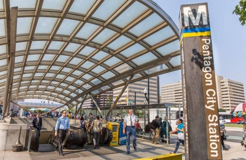 Pentagon City Metro - 1 block away