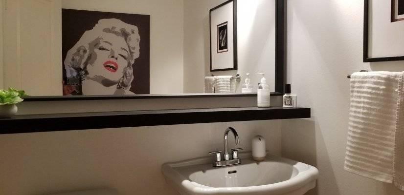 Half Bath on 2nd Floor