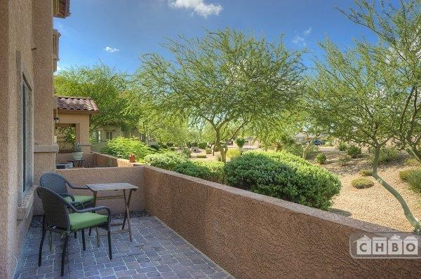Peaceful Outdoor Patio