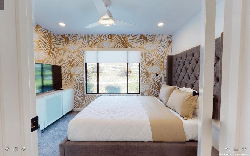 Tierrasanta Furnished Home - Bedroom w/ Queen Bed