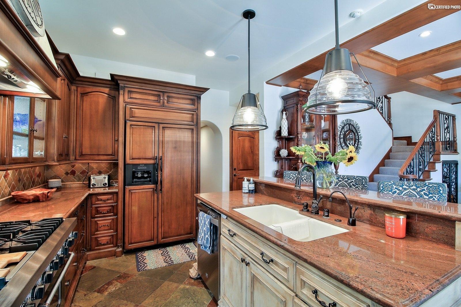 Built in Kitchen- Aid Refrigerator
