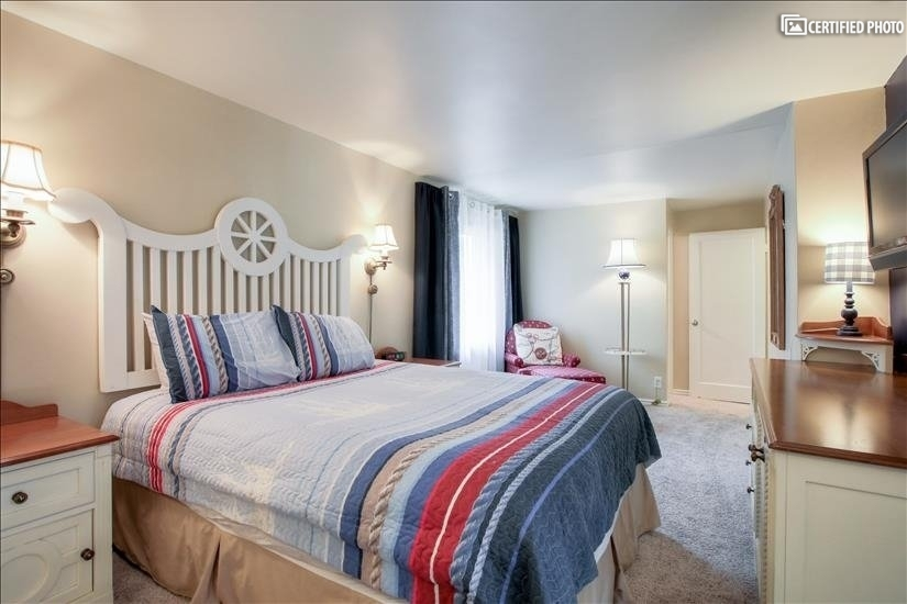 Yacht Club Bedroom