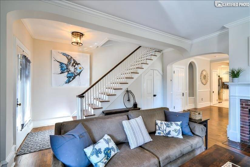 Living Room Toward Stairs