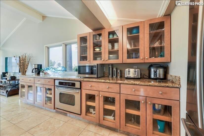 Plenty of storage in kitchen and throughout h