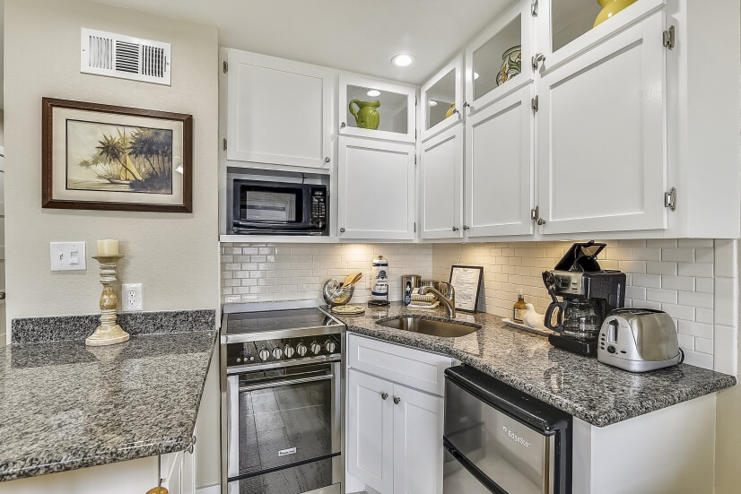 Many units offer granite counter tops & updated appliances.