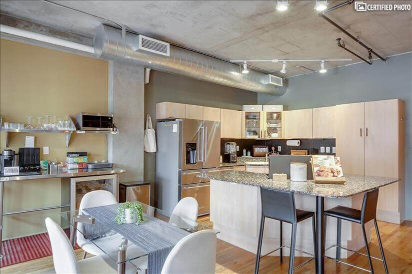 Marriage of Cooking and Dining Areas