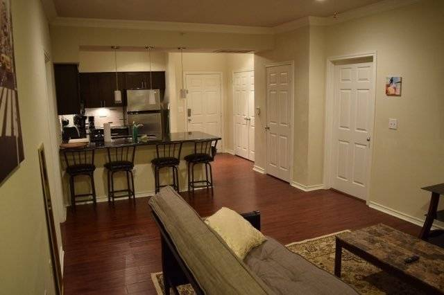 2nd image of Kitchen + Living area