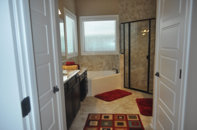 Master Bathroom - incuding garden tub and walk in shower
