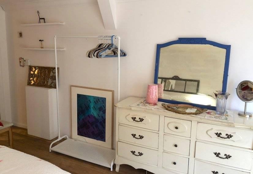 antique dresser clothes rack