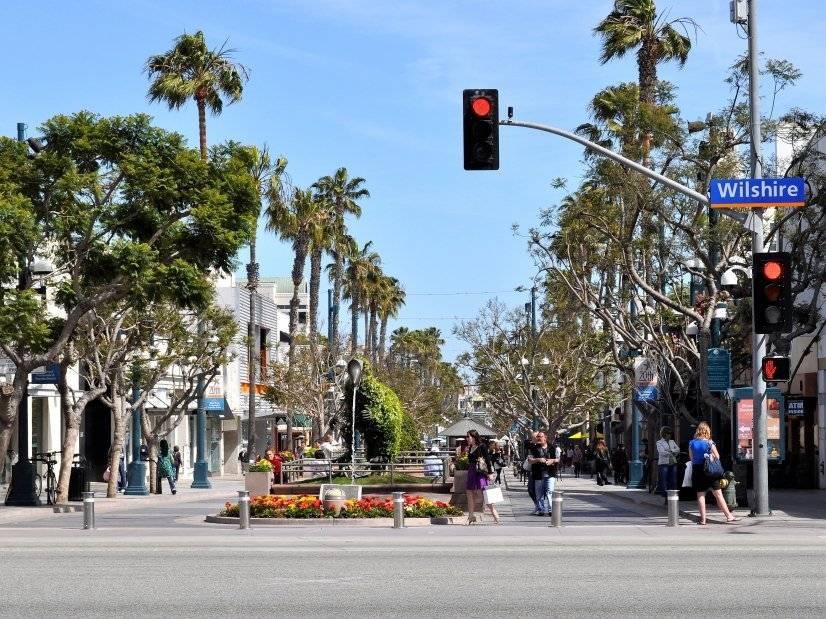 Third Street Promenade near the property