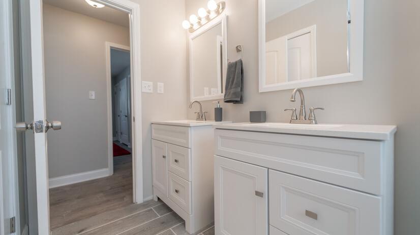 Master Bathroom _ Double Vanity