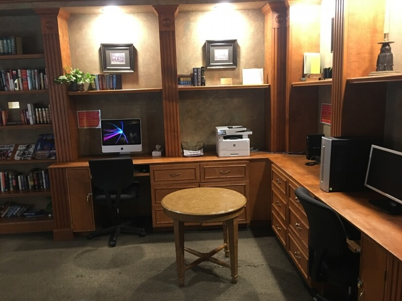 Club house business center free