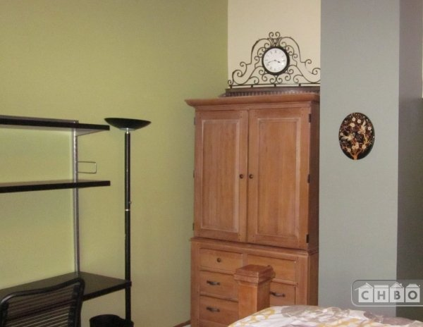 MASTER BR ARMOIRE WITH SMALL FRIDGEMASTER BR ARMOIRE WITH SM