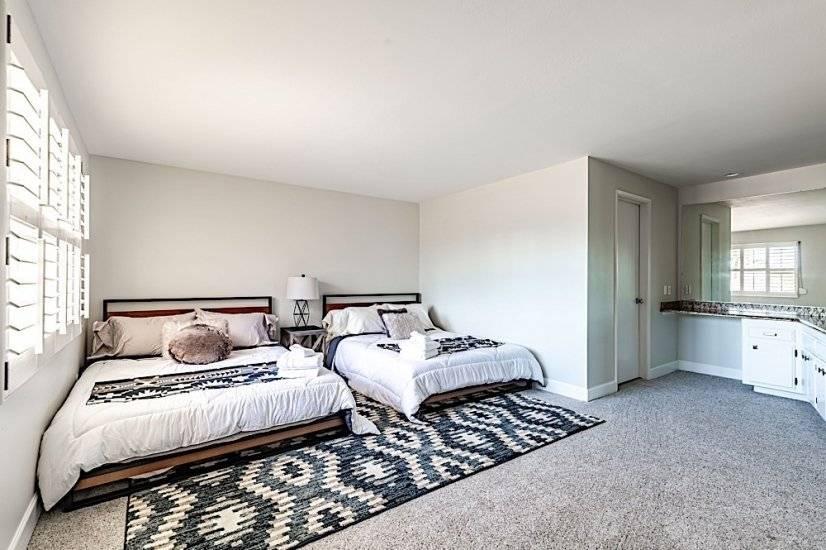 Bedroom # 3 - Double Beds