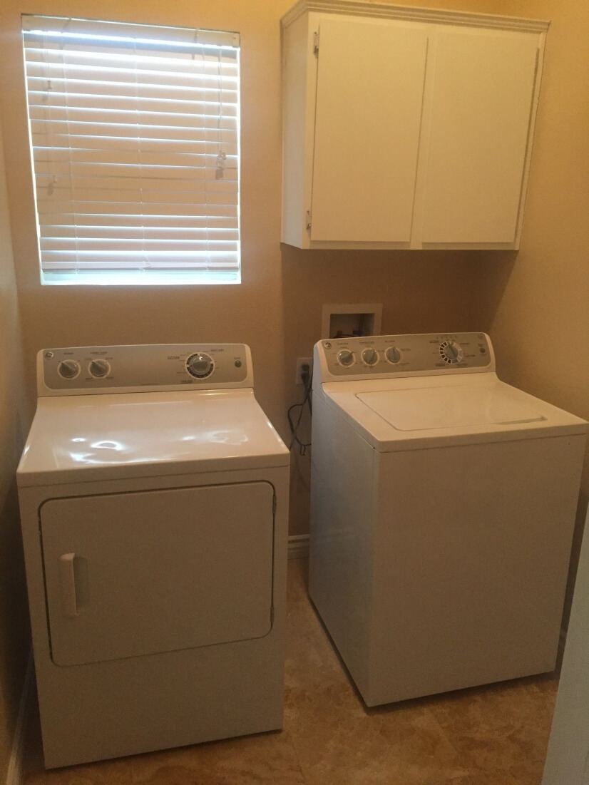 Separate laundry room Washers/dryer in the home