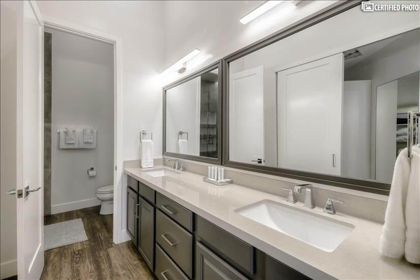 Dual Vanity master bath