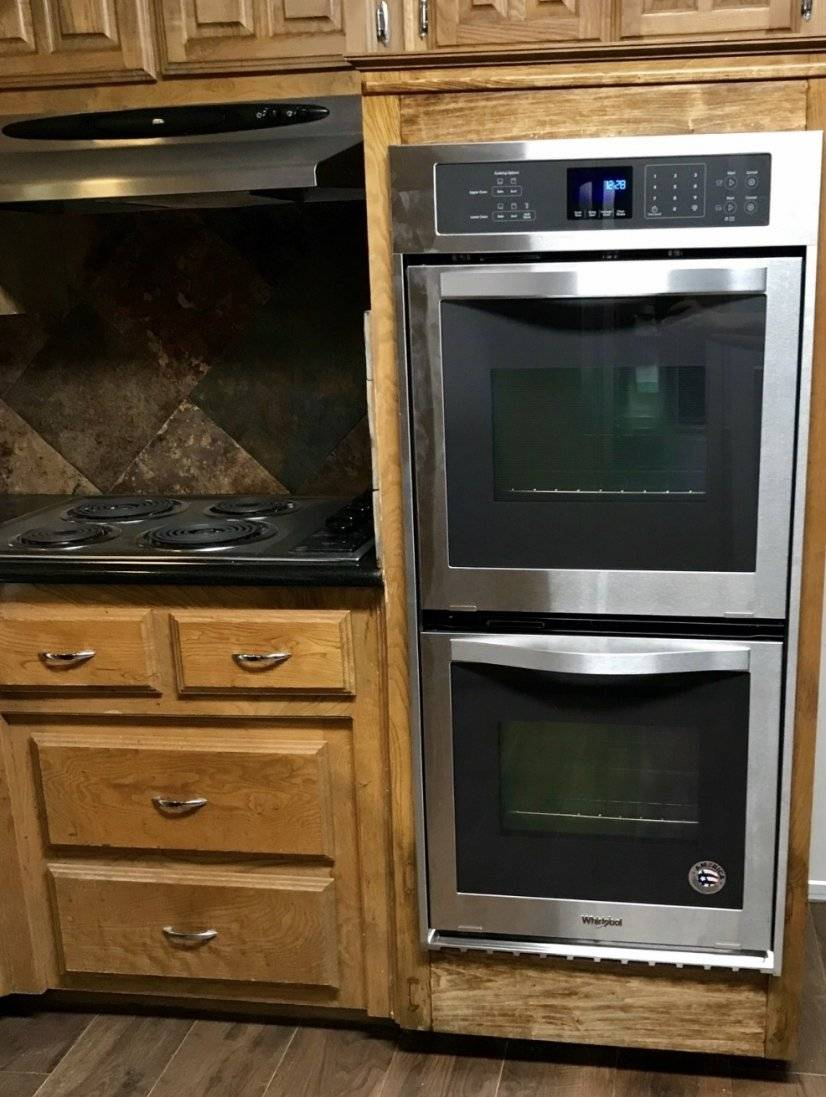 Brand new double oven