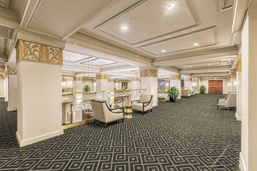 Second Floor Lounge Area