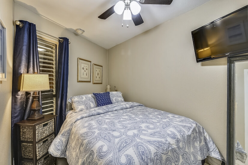 All units offer a private master bedroom.
