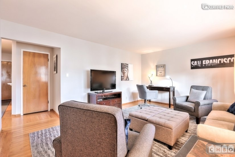 image 5 furnished 1 bedroom Townhouse for rent in Noe Valley, San Francisco