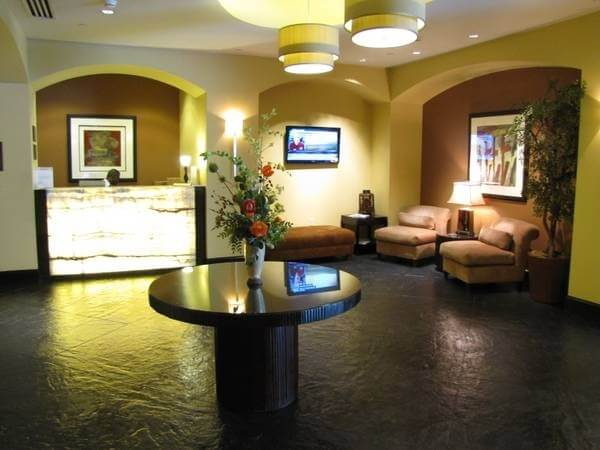 Lobby with full time concierge and 24 hour security.