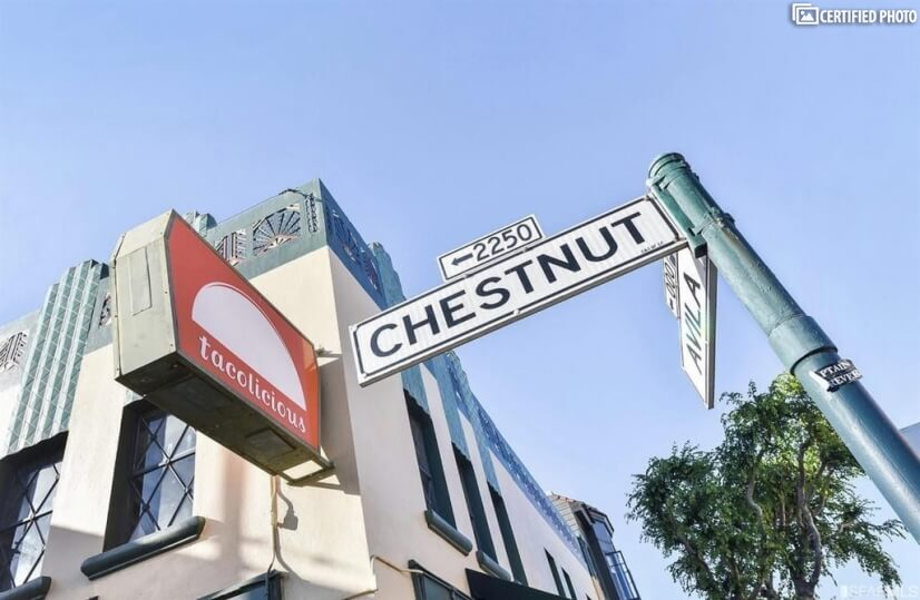 Walk to Chestnut Street, for all Commercial Needs.