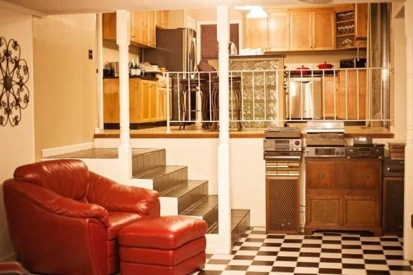 Open Concept - Den & Kitchen