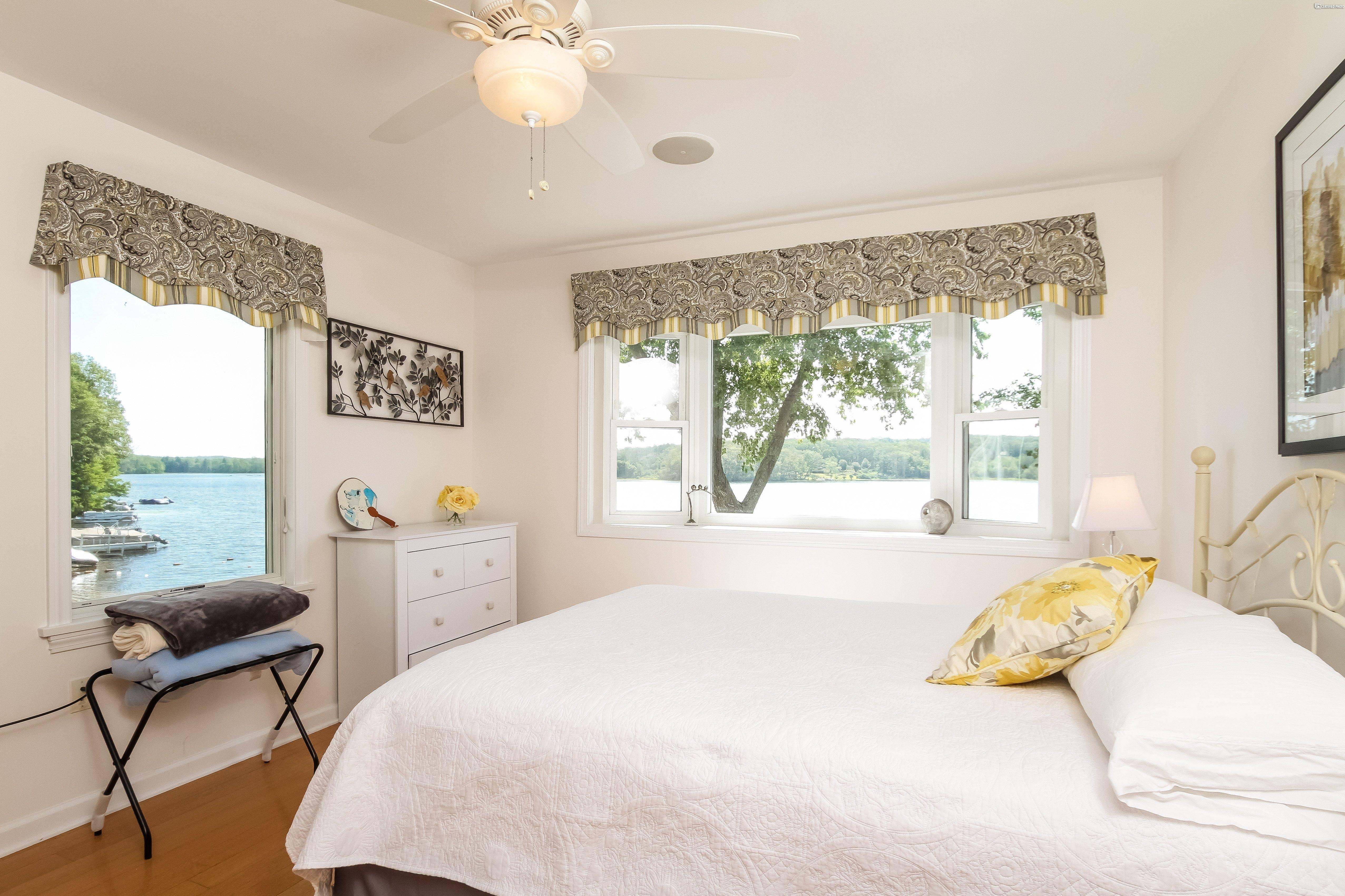 Spare Bedroom #1 - Next to Master Bath. Beautiful lake views