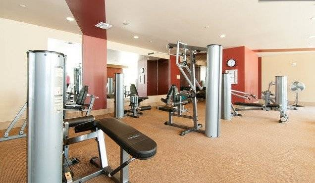 There are two full-featured gyms open 24 hours a day.