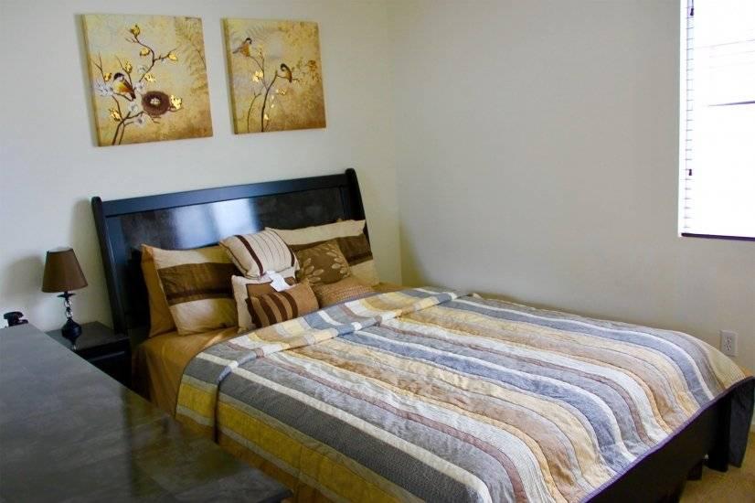Bedroom #2 Queen sized bed