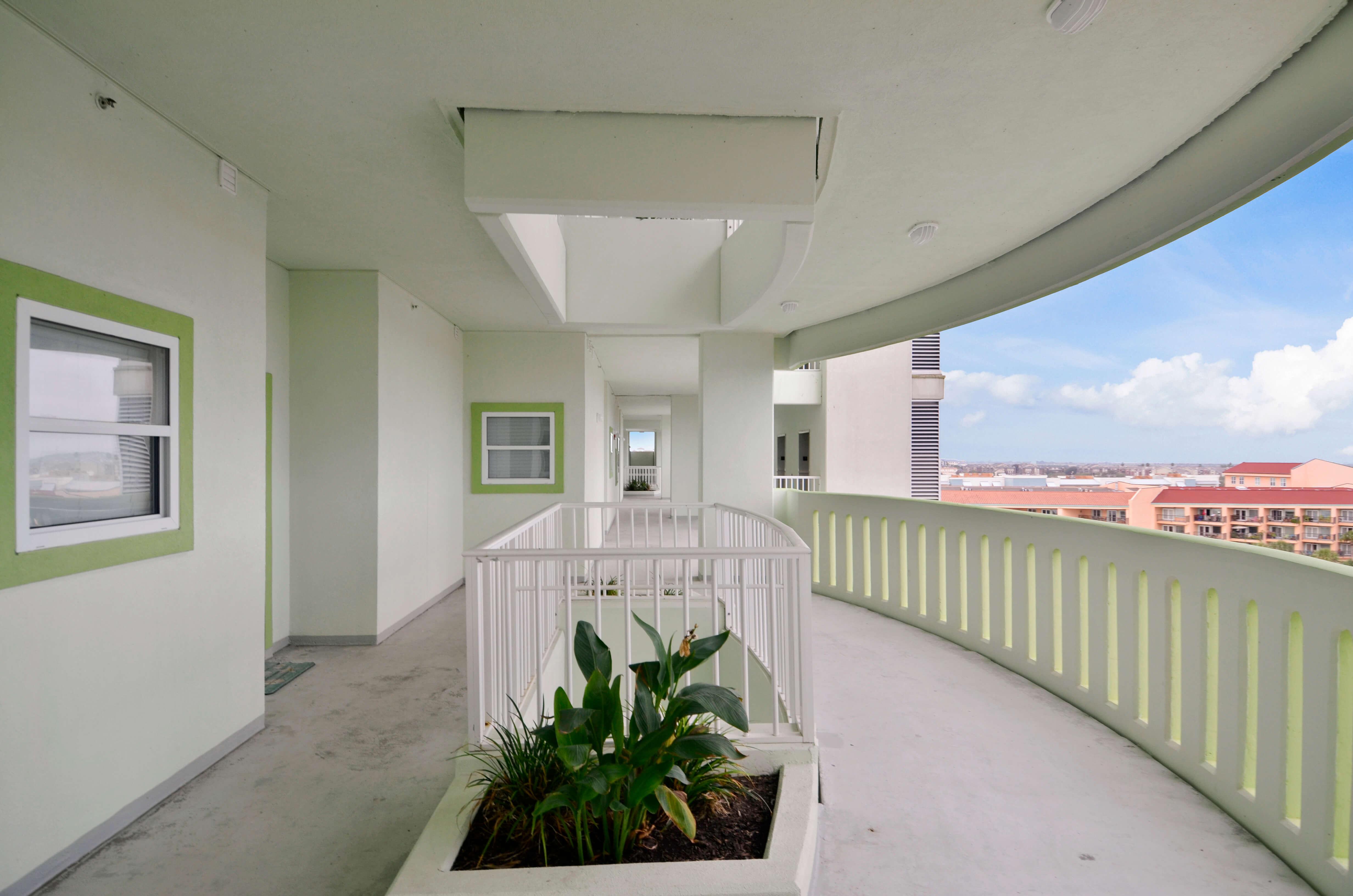 Backside Corridors of Ocean Grove Condominium