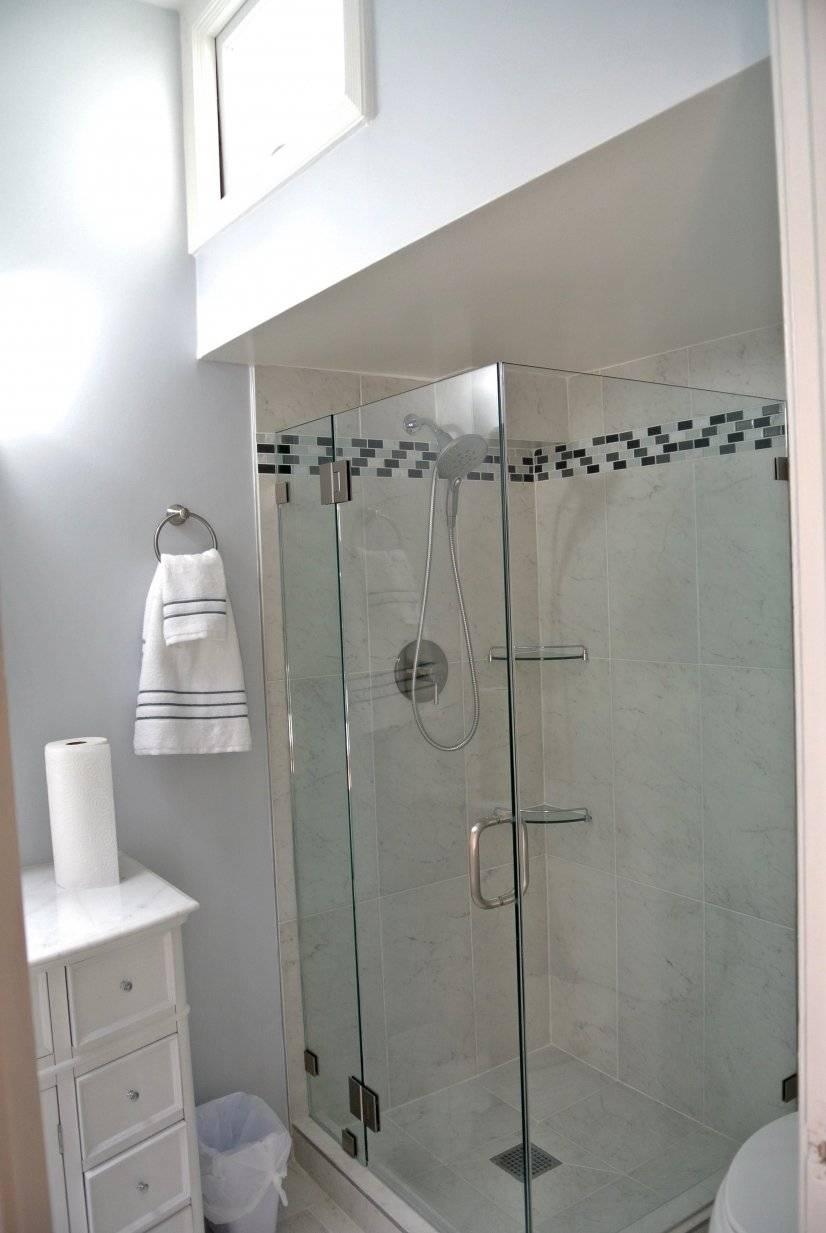 Modern Shower on Main floor bath