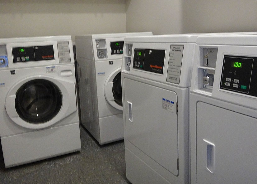 Modern  New Laundry room onsite!