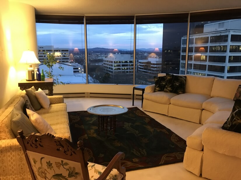 Living room - million dollar view